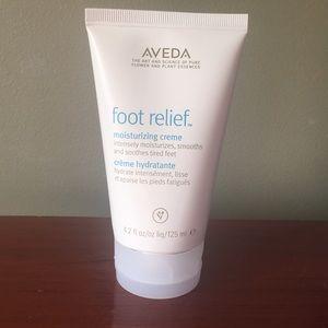 Aveda Foot Relief moisturizing creme.